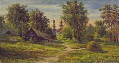 s04-247 Сельский пейзаж